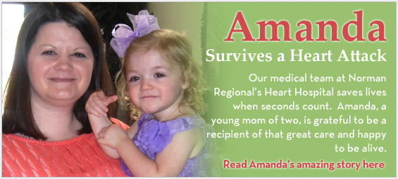 Amanda Survives a Heart Attack
