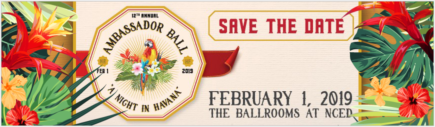 Ambassador Ball Save the Date 2019 870x255